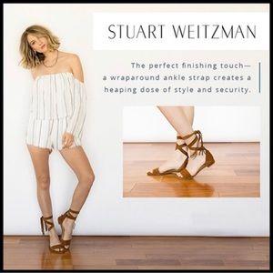 STUART WEITZMAN New In Box Corbata Wrap Sandal 7.5